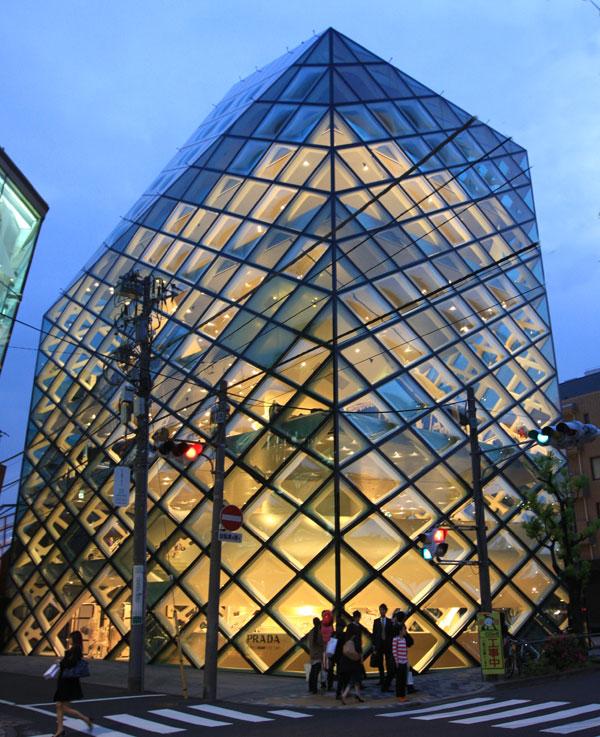 1_Prada Shop in Tokyo designed by Herzog and de Meuron